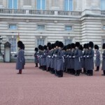Changing of the Gaurd Buckingham Palace Image