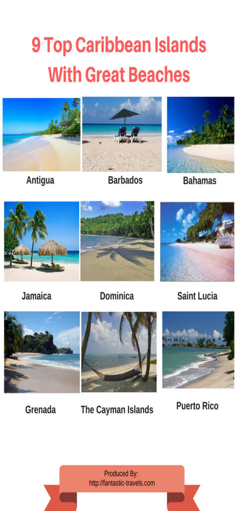 9 Top Caribbean Islands With Great Beaches